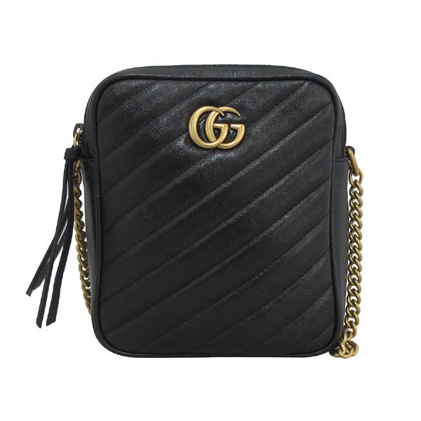 Gucci(구찌) 550155 블랙 컬러 GG 마몬트 마틀라쎄 미니 숄더백 [대구동성로점] 이미지2 - 고이비토 중고명품
