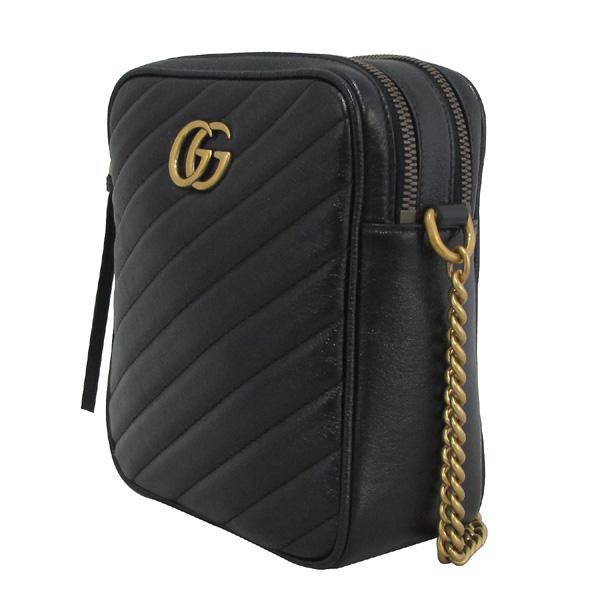 Gucci(구찌) 550155 블랙 컬러 GG 마몬트 마틀라쎄 미니 숄더백 [대구동성로점] 이미지3 - 고이비토 중고명품