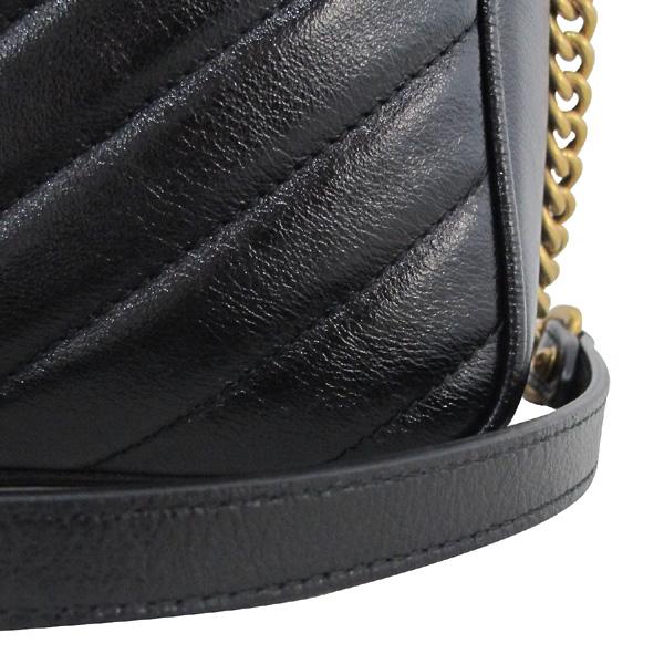 Gucci(구찌) 550155 블랙 컬러 GG 마몬트 마틀라쎄 미니 숄더백 [대구동성로점] 이미지4 - 고이비토 중고명품