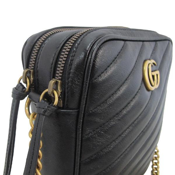 Gucci(구찌) 550155 블랙 컬러 GG 마몬트 마틀라쎄 미니 숄더백 [대구동성로점] 이미지5 - 고이비토 중고명품