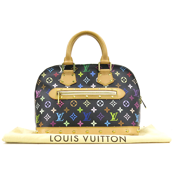 Louis Vuitton(루이비통) M92646 모노그램 멀티 블랙 알마 토트백 [강남본점]