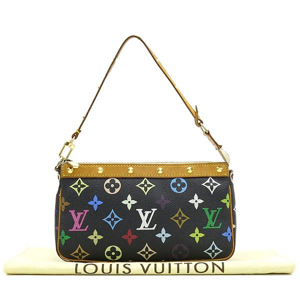 Louis Vuitton(루이비통) M92648 모노그램 멀티 컬러 블랙 포쉐트 액세사리 파우치 숄더백 [강남본점]