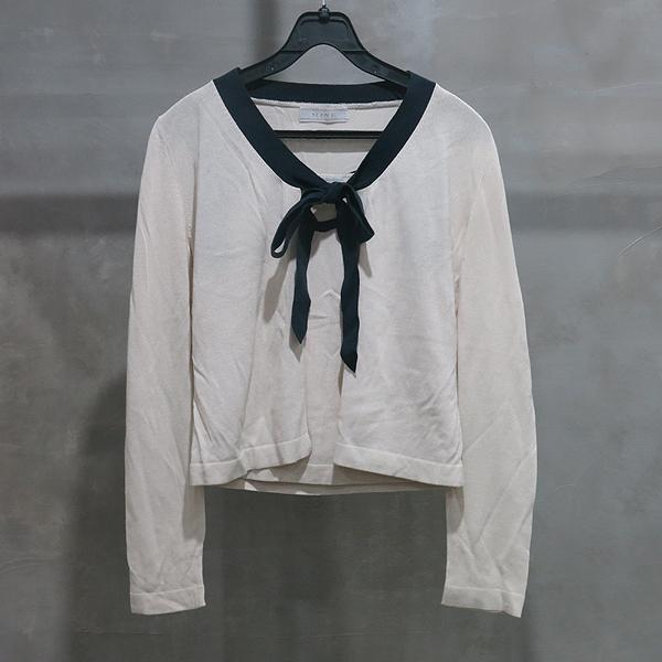 Mine(마인) 아이보리 컬러 여성용 나시티 + 카디건 SET [인천점]