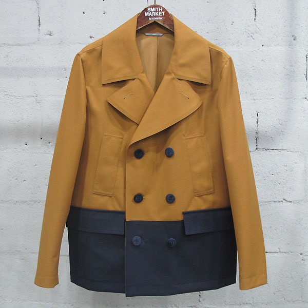 Dior(크리스챤디올) 울 혼방 브라운 투톤 컬러 3버튼 남성용 자켓 [동대문점]