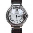 Cartier(까르띠에) W4BB0015 발롱블루 드 까르띠에 28MM 베젤 DIA셋팅 여성용 시계[대구 대백프라자점]
