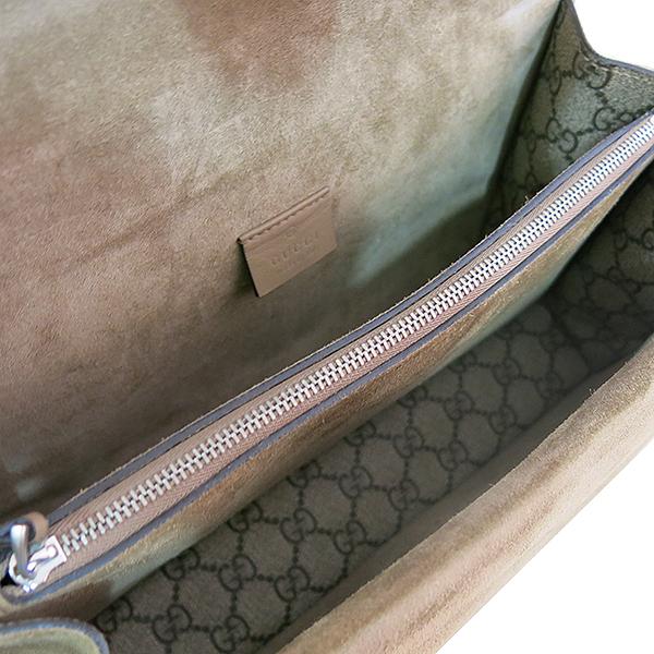 Gucci(구찌) 400249 디오니소스 타이거 헤드 GG로고 수프림 캔버스 체인 브라운 컬러 숄더백 [대구동성로점] 이미지4 - 고이비토 중고명품