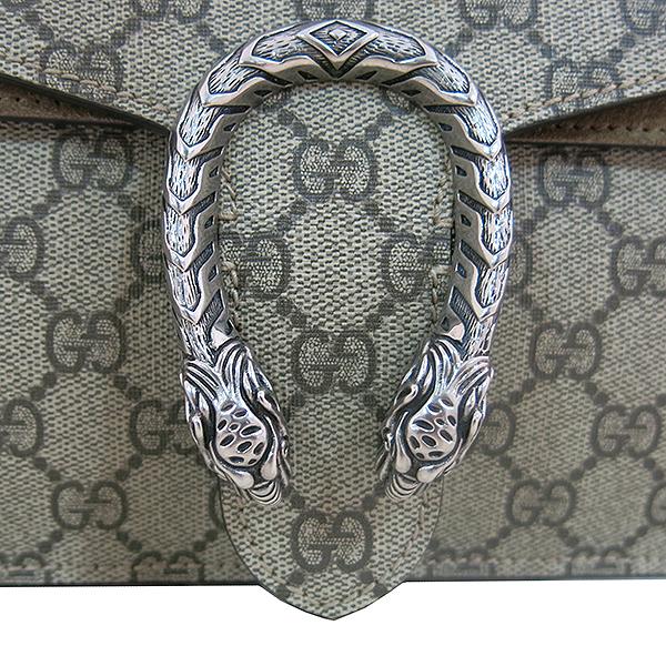 Gucci(구찌) 400249 디오니소스 타이거 헤드 GG로고 수프림 캔버스 체인 브라운 컬러 숄더백 [대구동성로점] 이미지5 - 고이비토 중고명품