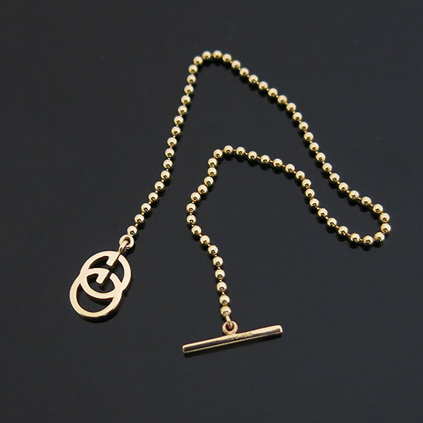 Gucci(구찌) 356956 18k 옐로우골드 GG로고 여성용 팔찌 [대구동성로점]