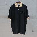 Armani(아르마니) 블랙 컬러 면 100% 베이지 배색 카라 티셔츠 [동대문점]