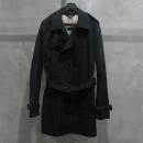Burberry(버버리) 3902350 BRIT 라인 블랙 컬러 켄싱턴 남성용 트렌치 코트 (허리끈 SET) [인천점]