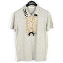 Prada(프라다) 그레이 컬러 면 100% 여성용 티셔츠 [강남본점]