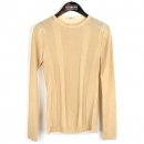 Prada(프라다) 베이지 컬러 울 100% 여성용 티셔츠 [강남본점]