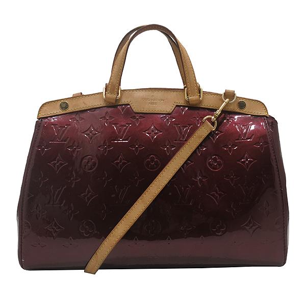 Louis Vuitton(루이비통) M91690 모노그램 베르니 라우지 포비스트 브레아 MM 토트백 + 숄더스트랩 2WAY [인천점]