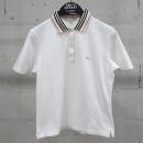 Burberry(버버리) 화이트 컬러 클래식 체크 여성용 카라 티셔츠 [동대문점]
