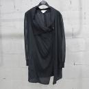 DKNY(도나카란) 실크 100% 블랙 컬러 여성용 집업 자켓 [동대문점]