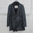 HERNO(에르노) 블랙 컬러 레이어드 장식 여성용 롱 자켓 [동대문점]