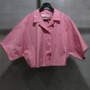 Golden Goose(골든구스) 핑크컬러 커튼 숏 셔츠 [인천점]