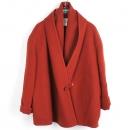 Hermes(에르메스) 캐시미어 100% 버건디 컬러 여성용 자켓 [강남본점]