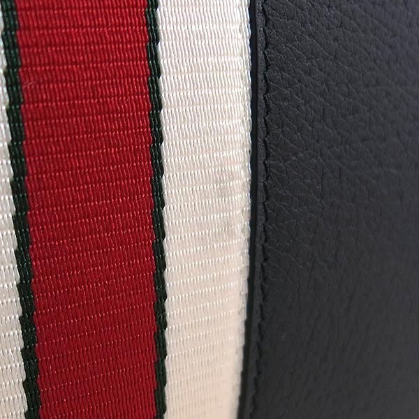 Gucci(구찌) 18F/W 475316 블랙컬러 스트라이프 가죽 클러치 [대구동성로점] 이미지5 - 고이비토 중고명품