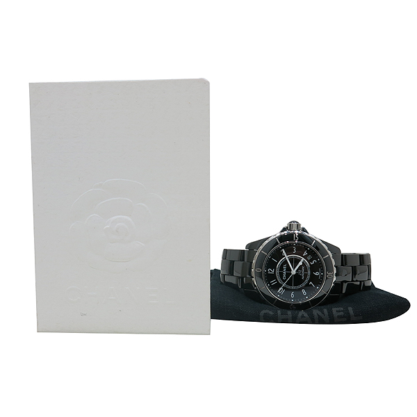 Chanel(샤넬) H0685 J12 38MM 블랙 세라믹 데이트 오토매틱 남성용 시계 [인천점]