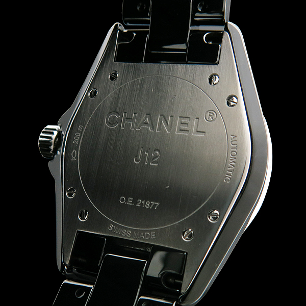 Chanel(샤넬) H0685 J12 38MM 블랙 세라믹 데이트 오토매틱 남성용 시계 [인천점] 이미지5 - 고이비토 중고명품