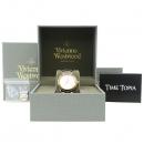 Vivienne_Westwood (비비안웨스트우드) VV006 라운드 금장 콤비 여성용 스틸 시계 [강남본점]