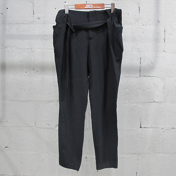 Balenciaga(발렌시아가) 215286 실크 100% 블랙 컬러 여성용 슬랙스 바지 [동대문점]