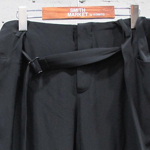 Balenciaga(발렌시아가) 215286 실크 100% 블랙 컬러 여성용 슬랙스 바지 [동대문점] 이미지2 - 고이비토 중고명품