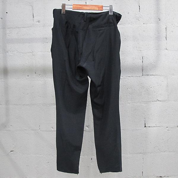 Balenciaga(발렌시아가) 215286 실크 100% 블랙 컬러 여성용 슬랙스 바지 [동대문점] 이미지3 - 고이비토 중고명품