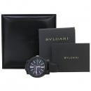 Bvlgari(불가리) BBP40BCGLD 불가리 불가리 카본 골드 오토매틱 가죽밴드 시계 [강남본점]