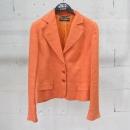 D&G(돌체&가바나) 리넨 혼방 오렌지 컬러 여성용 자켓 [동대문점]