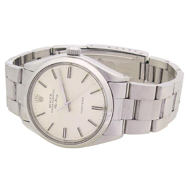 Rolex(로렉스) 오이스터 퍼페츄얼 에어킹 5500 오토메틱 남성용 스틸 시계 [강남본점] 이미지2 - 고이비토 중고명품