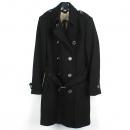 Burberry(버버리) 3759519 브릿라인 울 혼방 블랙컬러 여성용 코트 [강남본점]