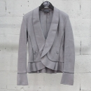 Armani(아르마니) 면 100% 그레이 컬러 여성용 니트 자켓 [동대문점]