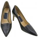Ferragamo(페라가모) 블랙 컬러 패턴 여성용 구두 [강남본점]