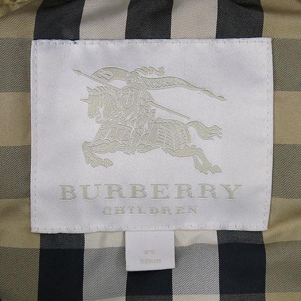 Burberry(버버리) 3990359 네이비 컬러 아동용 패딩 [강남본점] 이미지4 - 고이비토 중고명품