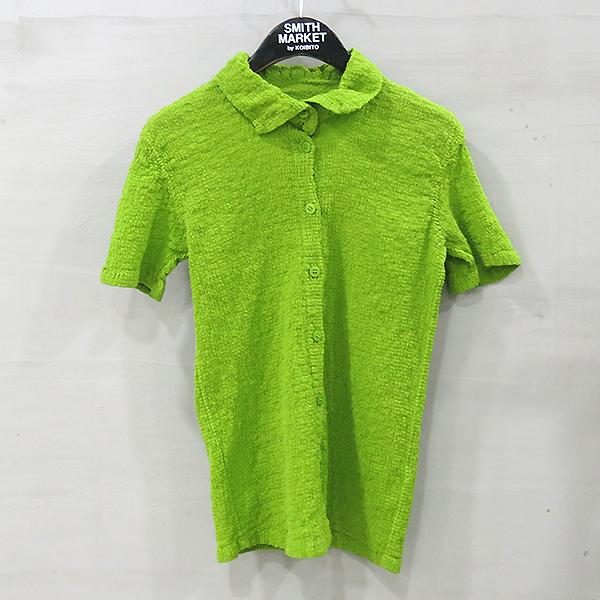 ISSEY MIYAKE (이세이미야케) 그린컬러 여성용 셔츠 [부산센텀본점]