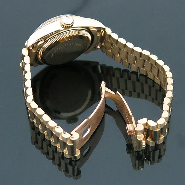 Rolex(로렉스) 69178 18K FULL GOLD 금통 10포인트 애프터 다이아 세팅 데이저스트 여성용 시계 [인천점] 이미지5 - 고이비토 중고명품