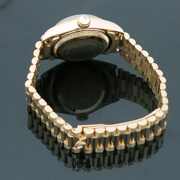 Rolex(로렉스) 69178 18K FULL GOLD 금통 10포인트 애프터 다이아 세팅 데이저스트 여성용 시계 [인천점] 이미지4 - 고이비토 중고명품