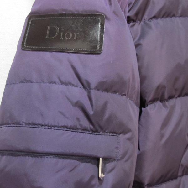 Dior(크리스챤디올) 폴리 혼방 퍼플 컬러 폭스 퍼 장식 여성용 점퍼 [대구반월당본점] 이미지4 - 고이비토 중고명품
