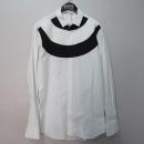 NEIL BARRETT(닐바렛) 면 100% 화이트 컬러 투톤 남성용 셔츠 [대구반월당본점]
