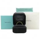 Tiffany(티파니) 18K(750) 옐로우 골드 네로우 1837 로고 반지 - 20호 [강남본점]