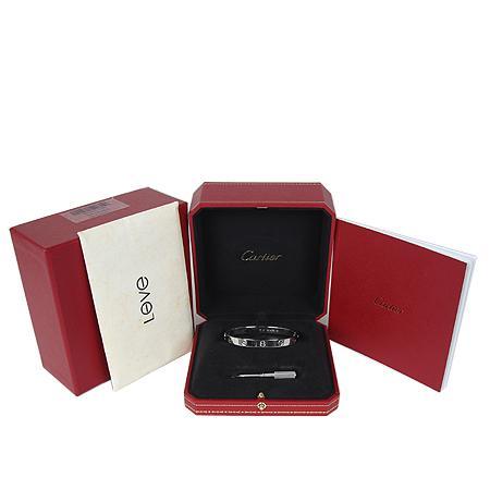 Cartier(까르띠에) B6035417 18K(750) 화이트 골드 러브 팔찌 (17호)[광주상무점] 이미지2 - 고이비토 중고명품
