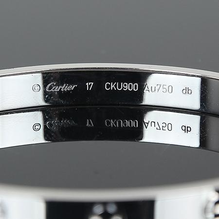 Cartier(까르띠에) B6035417 18K(750) 화이트 골드 러브 팔찌 (17호)[광주상무점] 이미지4 - 고이비토 중고명품