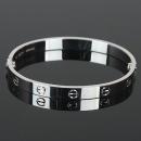 Cartier(까르띠에) B6035417 18K(750) 화이트 골드 러브 팔찌 17호[광주1]