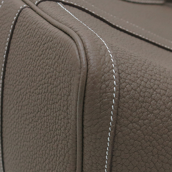 Hermes(에르메스) 소프트 코코아브라운 컬러 레더 가든파티 36 토트백 [인천점] 이미지5 - 고이비토 중고명품