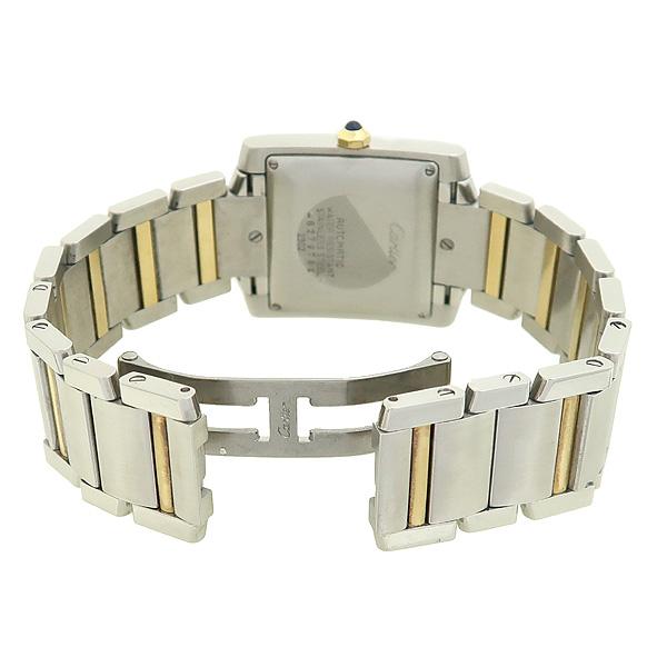 Cartier(까르띠에) W51005Q4 탱크 프랑세즈 오토매틱 18K 콤비 L사이즈 남성용 시계 [강남본점] 이미지3 - 고이비토 중고명품