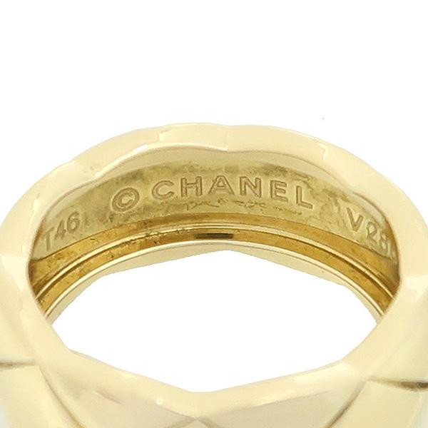 Chanel(샤넬) 18K 옐로우골드 COCO 크러쉬 반지 - 6호 [강남본점] 이미지3 - 고이비토 중고명품