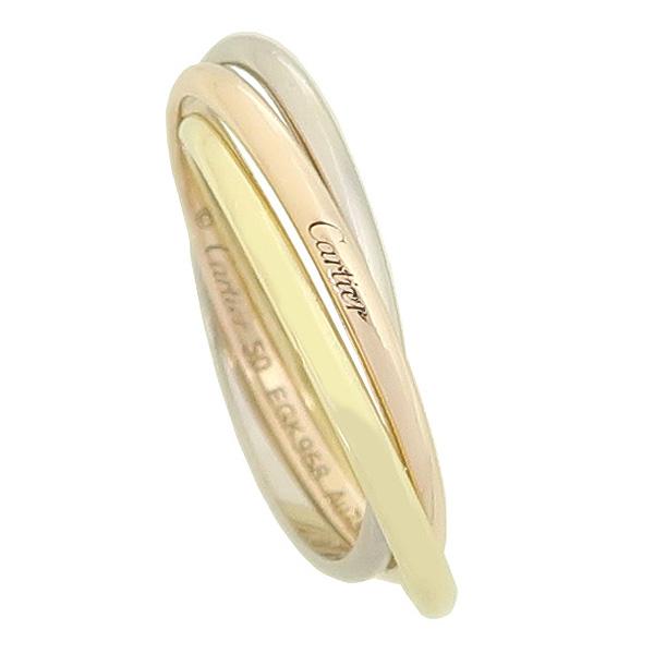Cartier(까르띠에) B4088950 18K 트리플골드 XS model Trinity(트리니티) 반지 - 10호 [강남본점] 이미지2 - 고이비토 중고명품