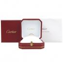 Cartier(까르띠에) B4086452 18K 핑크 골드 C de Cartier wedding band C 드 까르띠에 인그레이빙 1포인트 다이아 웨딩 밴드 반지 - 12호 [강남본점]